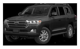 2016 Toyota Land Cruiser black