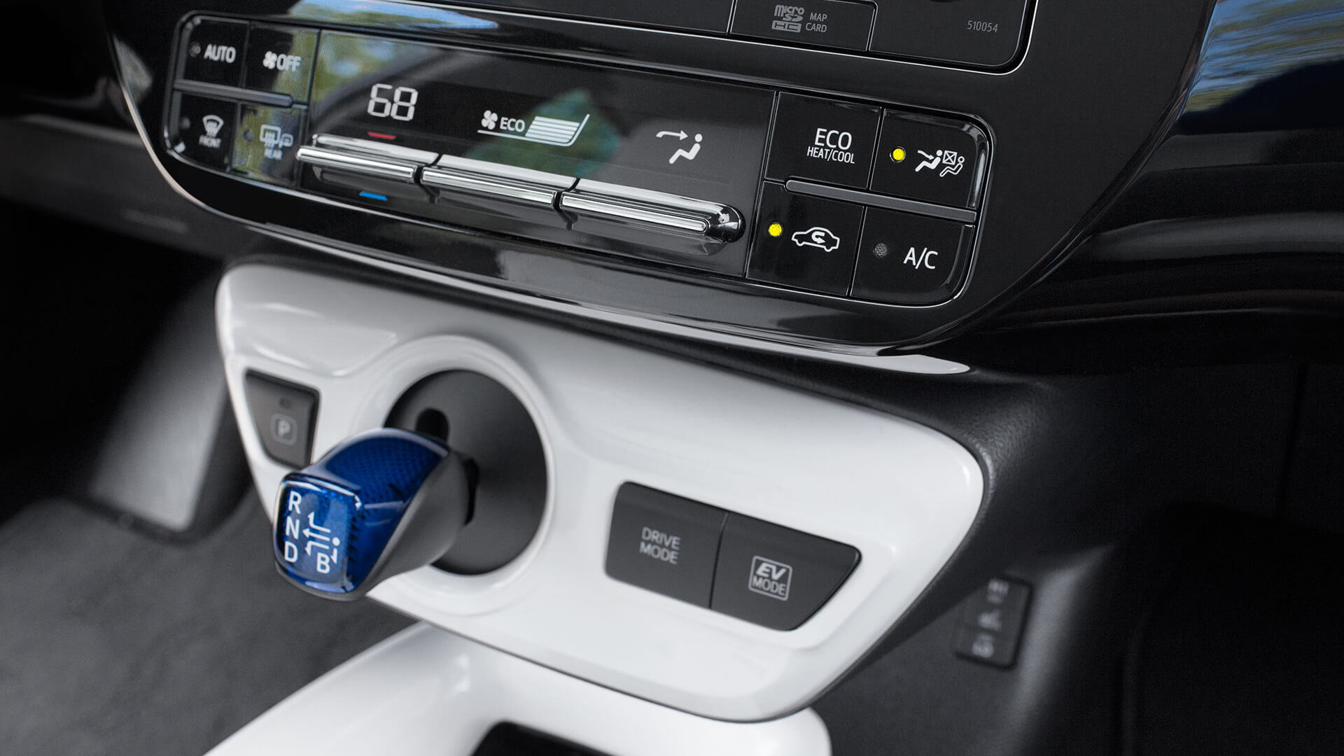 2016 Toyota Prius interior features