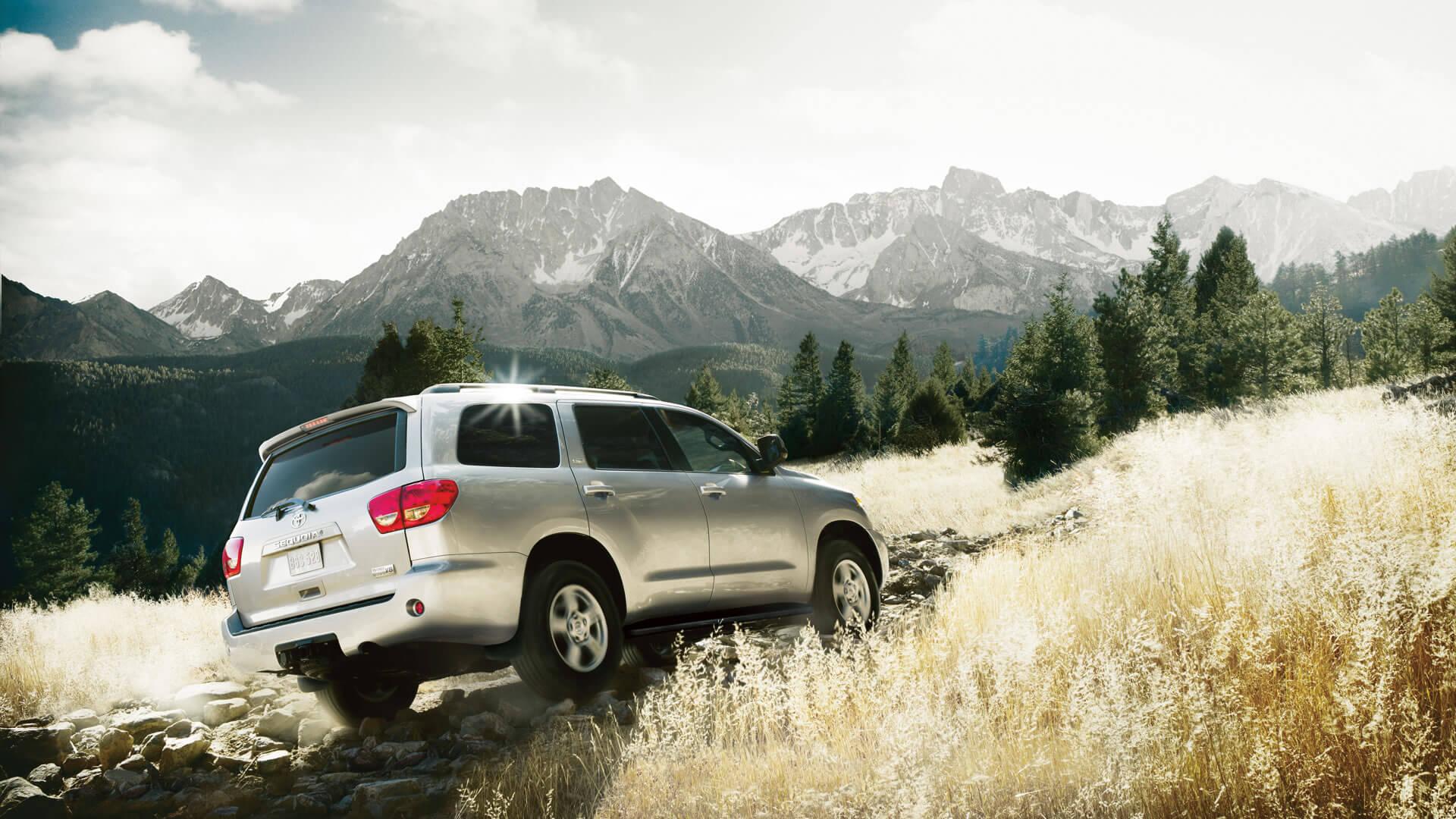 2016 Toyota Sequoia climb