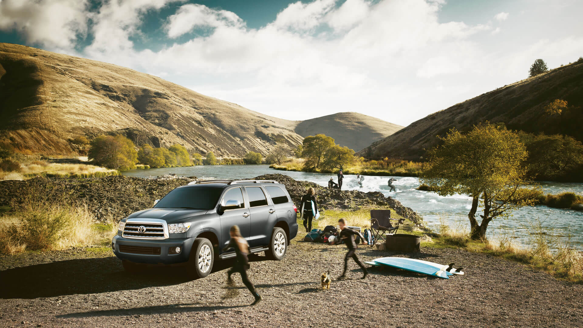 2016 Toyota Sequoia lake