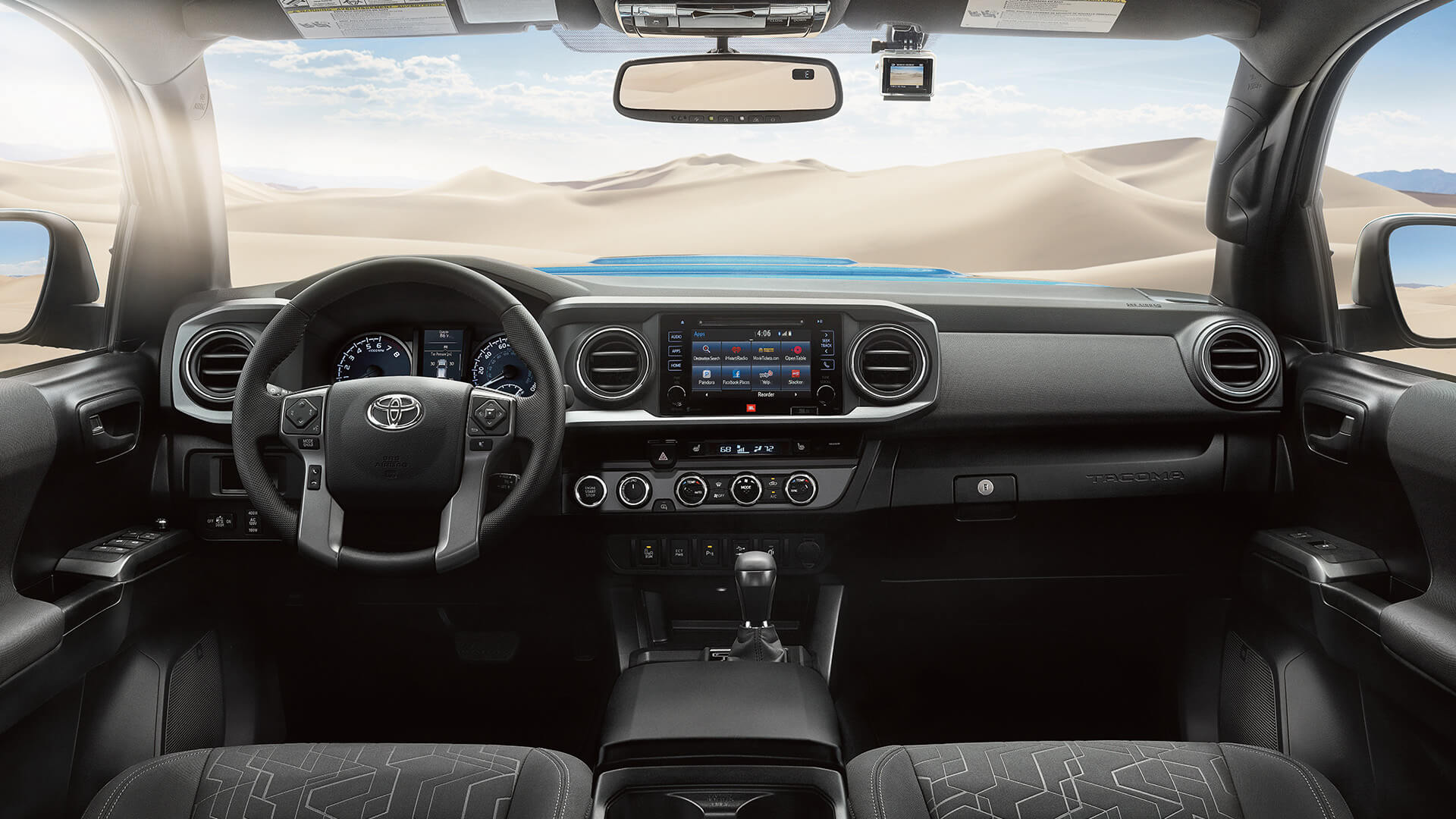 2016 Toyota Tacoma interior features