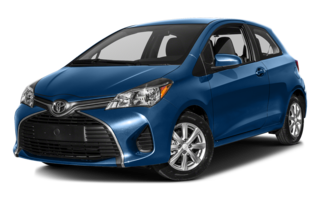 2016 Toyota Yaris Blue