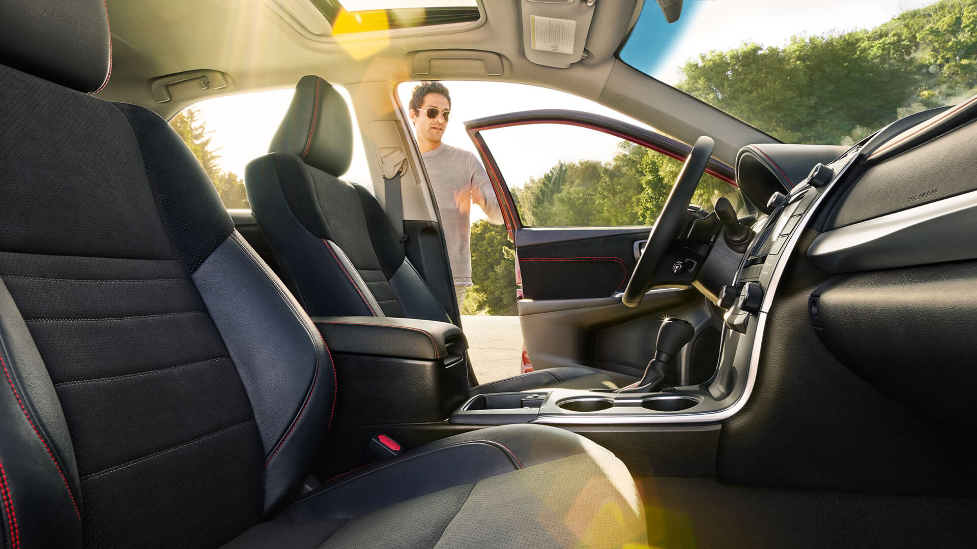 2017 Toyota Camry seats
