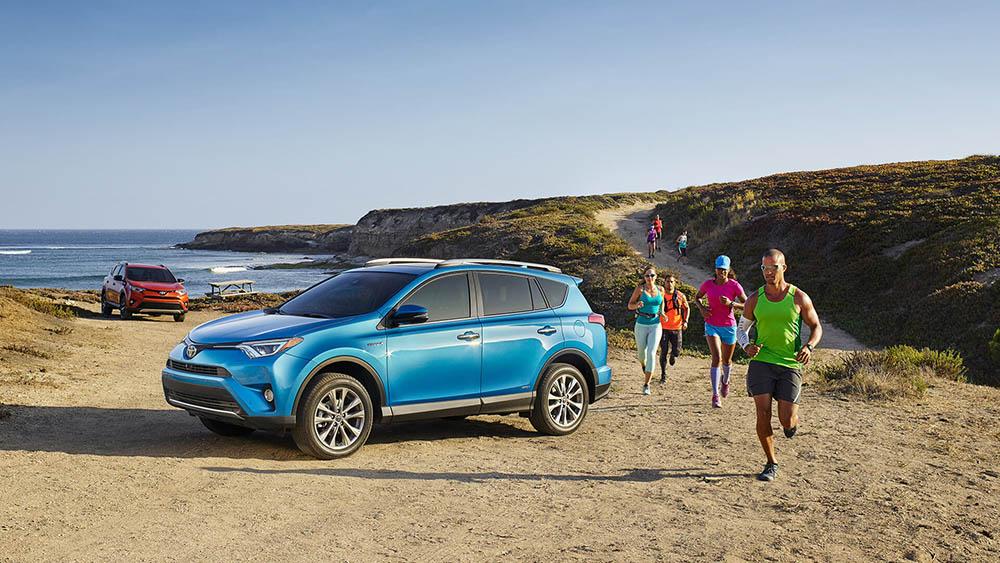 2016 Toyota Rav4 beach
