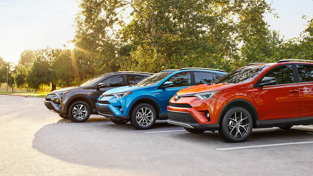 2016 Toyota Rav4 group