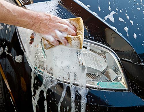 Soapy Sponge