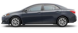 2017 Toyota Corolla Black
