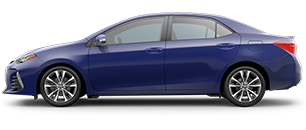 2017 Toyota Corolla Blue