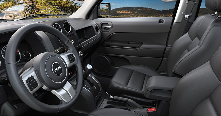2017 Jeep Patriot Interior in Indianapolis, IN
