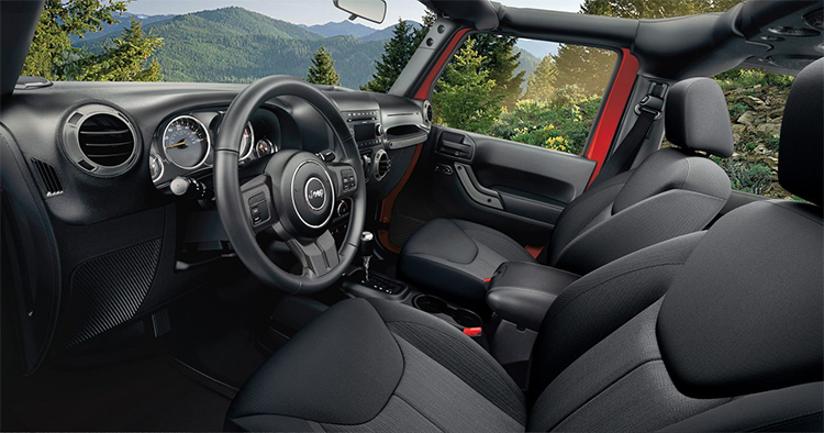2017 Jeep Wrangler Interior in Indianapolis, IN