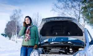 Winter car trouble