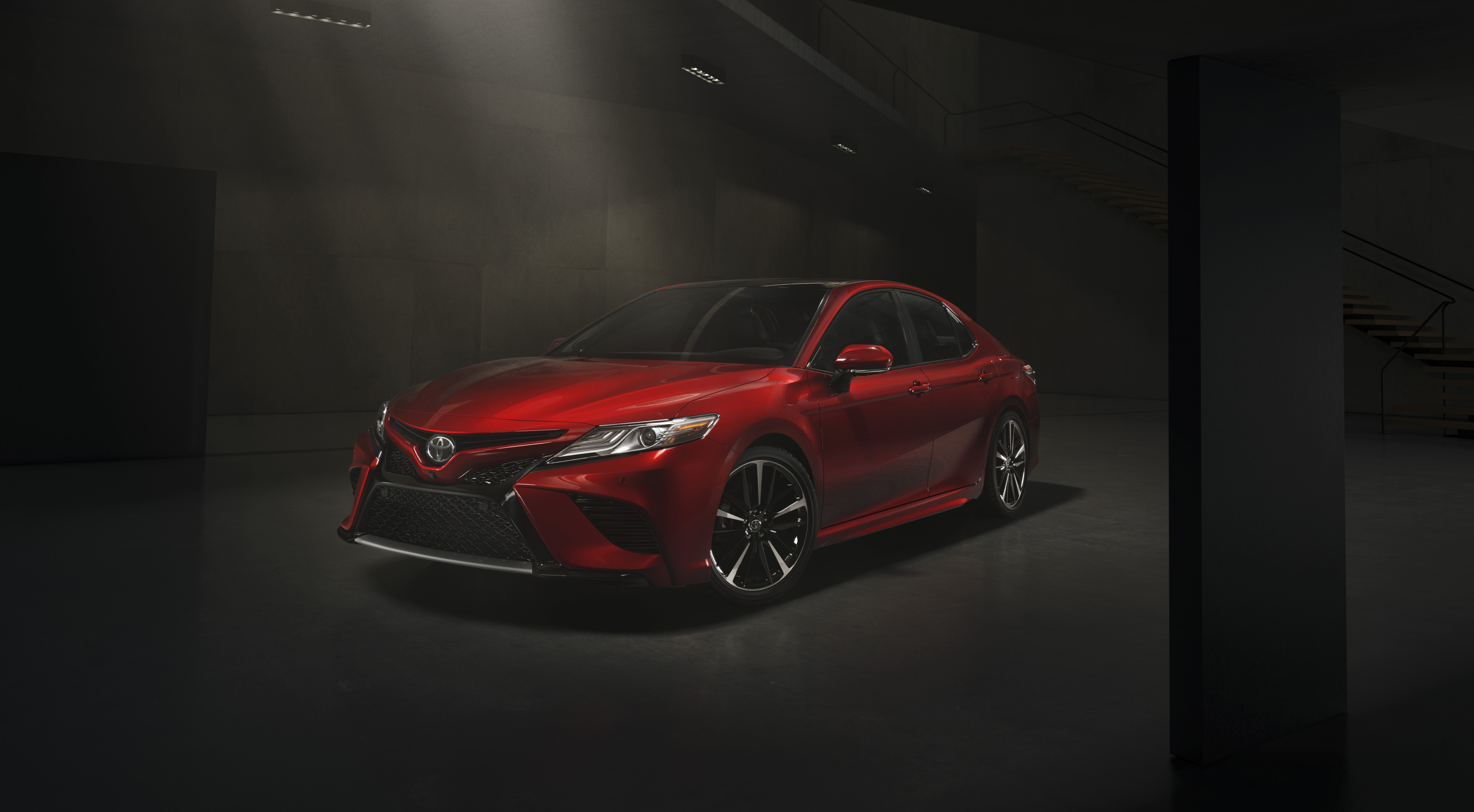 the 2018 toyota camry emotionally charged design