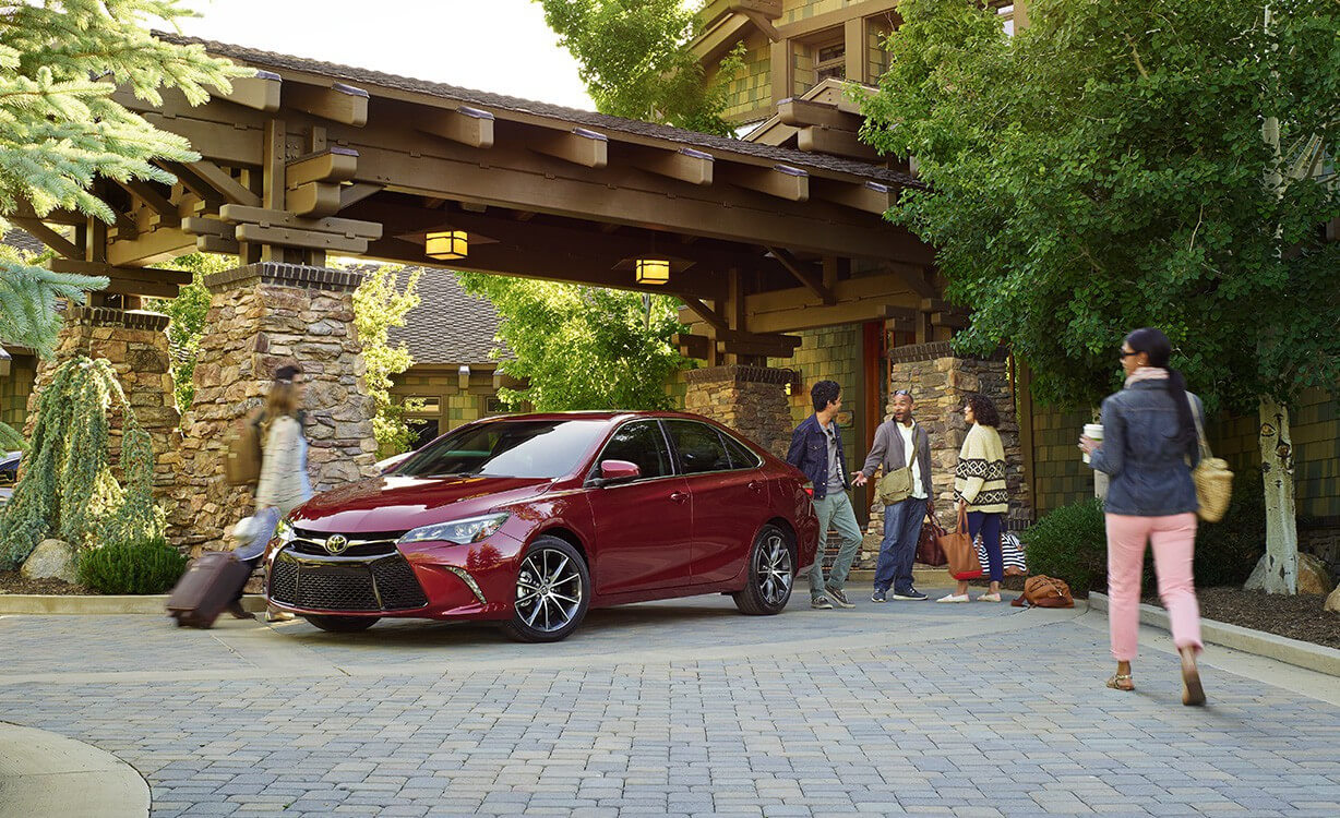 2017 Toyota Camry parked
