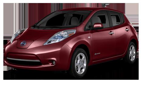 2016 Nissan Leaf Red