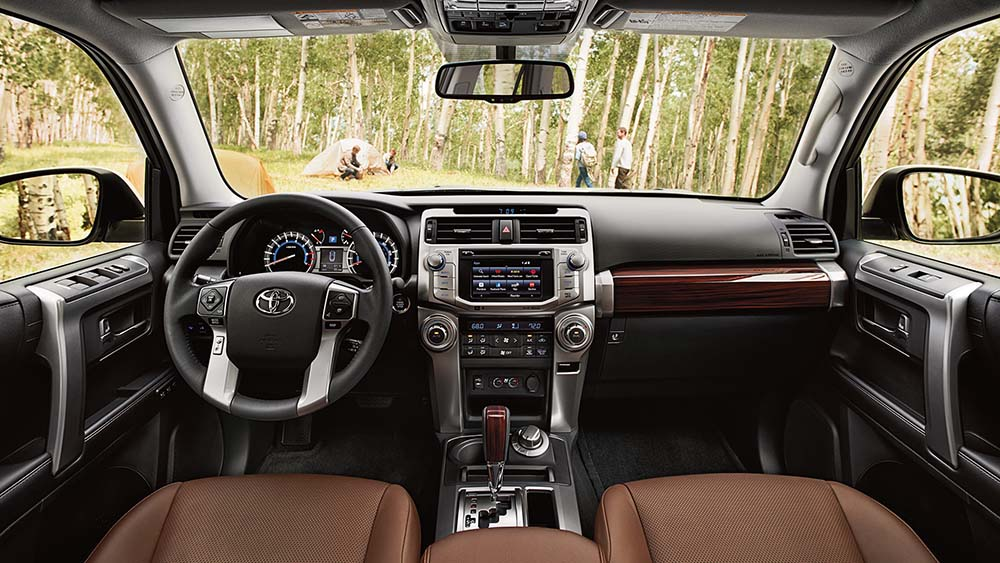2017 Toyota 4Runner Dash