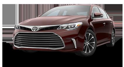 2017 Toyota Avalon Maroon