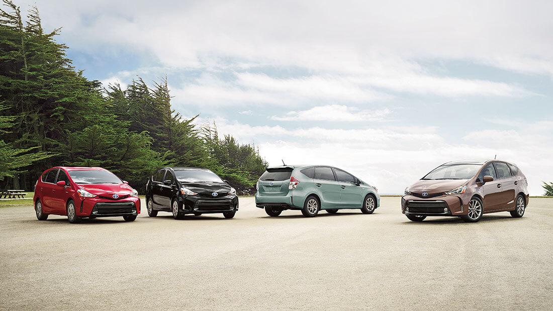 2016 Toyota Prius V Group