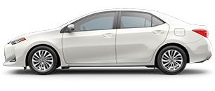 2017 Toyota Corolla White