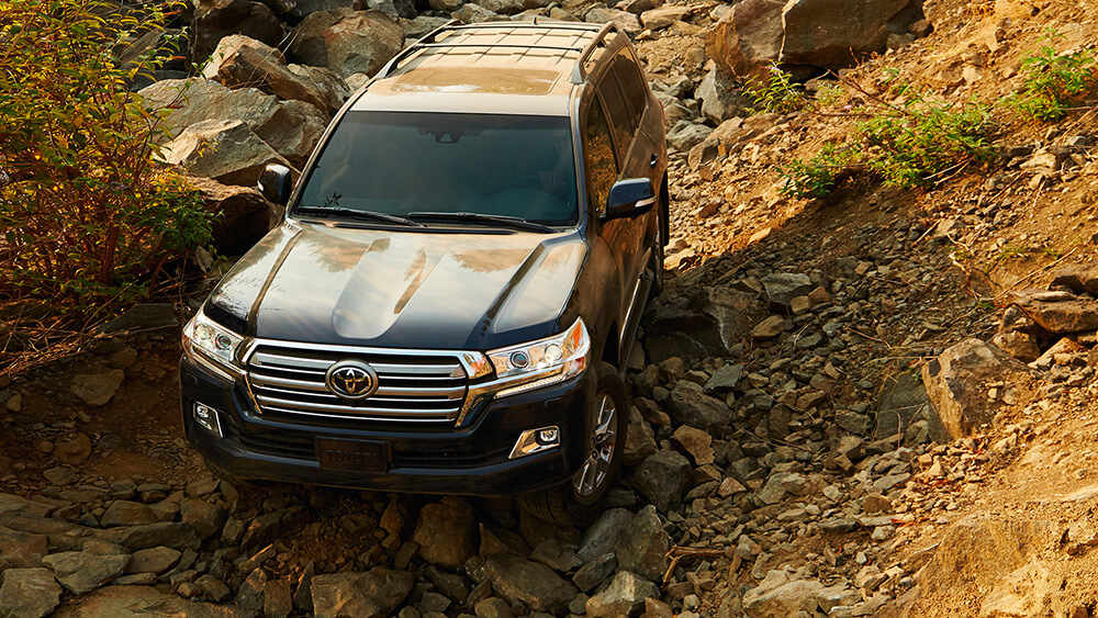 2017 Toyota Land Cruiser Off Road