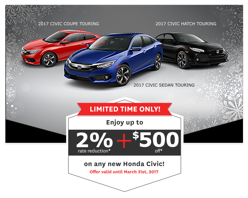 2017 honda civic special offer formula honda for Honda civic specials