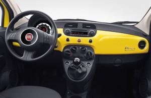 Fiat 500 Dash