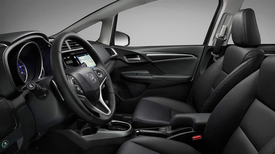 Interior, 2016, Honda Fit
