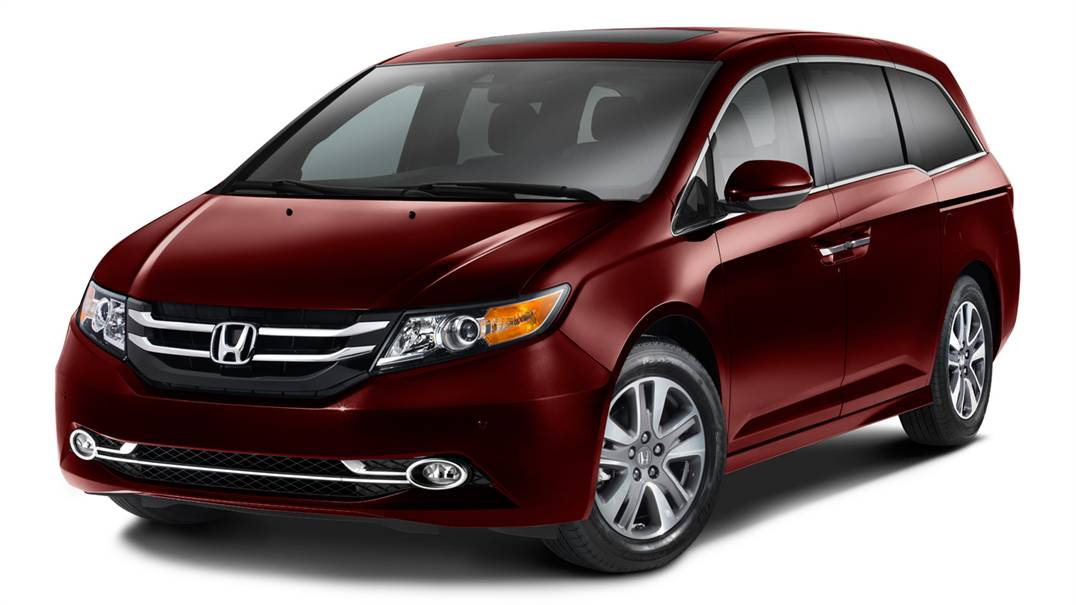 2016 Honda Odyssey Front Exterior