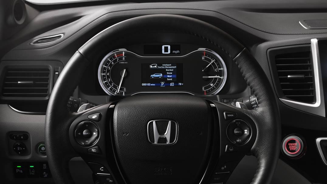 Instrument Panel, Honda Pilot, 2016