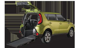 Kia Soul Wheelchair Accessible Car