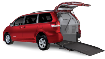 Toyota Sienna Rear-Entry Wheelchair Van
