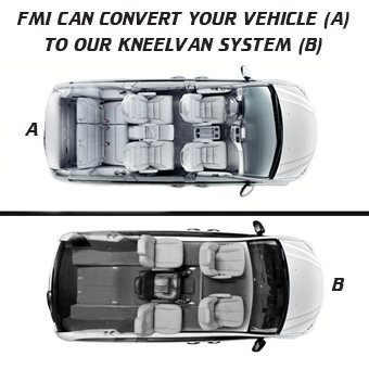 FMI can convert your vehicle to our Kneelvan™ system
