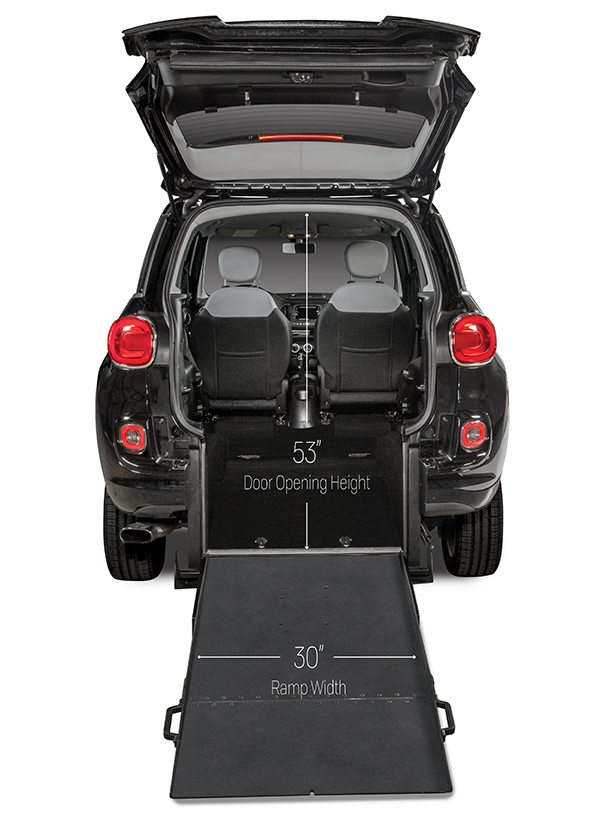 Fiat 500l Wheelchair Accessible Car Freedom Motors Usa