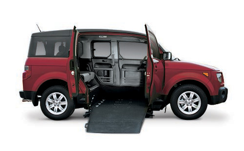 Honda-Element-Side-Entry