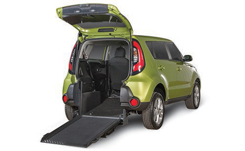 Kia Soul Rear Entry