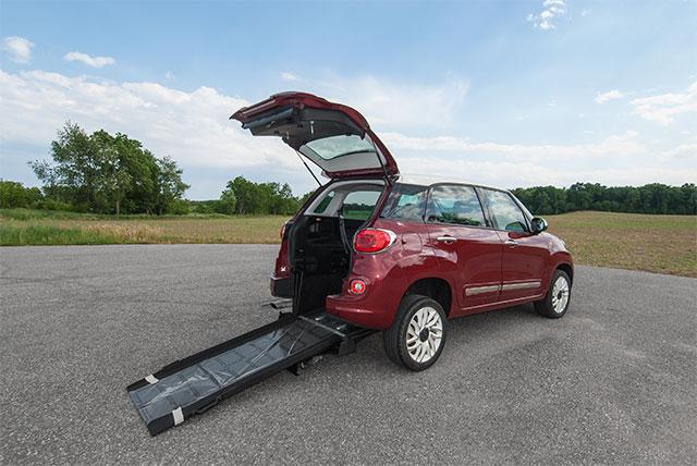 Fiat 500L Wheelchair Accessible Car