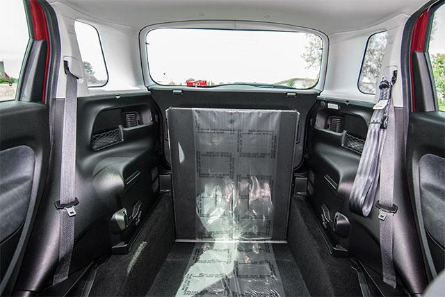 The Fiat 500L Wheelchair Accessible Car Interior