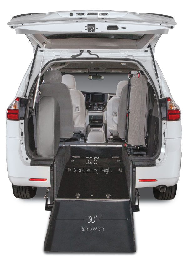 Toyota Sienna Wheelchair Accessible Kneelvan Freedom