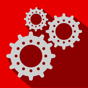 Gears-Red
