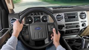 2016 Ford Super Duty Dash