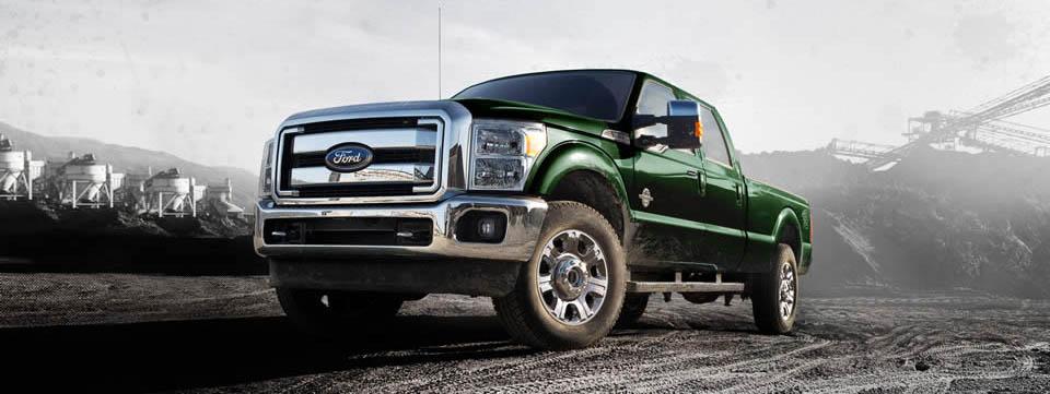 2016 Ford Super Duty green