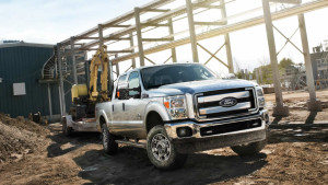 2016 Ford Super Duty towing
