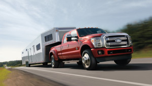 2016 Ford Super Duty red