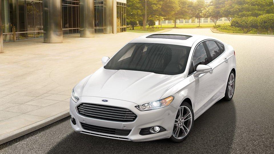 2016 Ford Fusion Energi White
