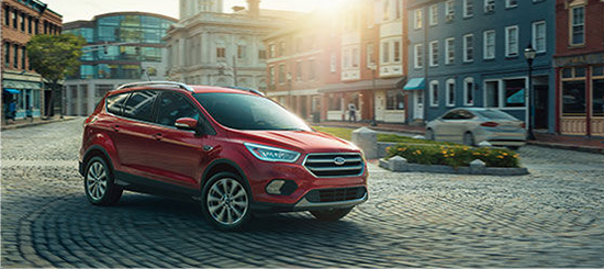2017 Ford Escape plaza