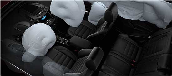 2017 Ford Escape airbags