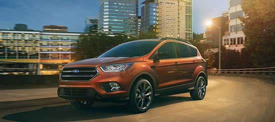 2017 Ford Escape Orange