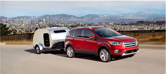 2017 Ford Escape Driving