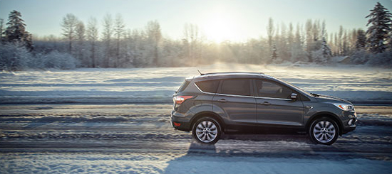 2017 Ford Escape Snow