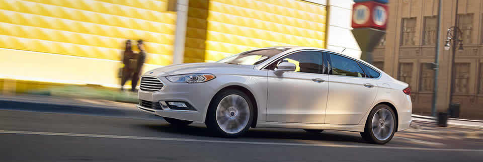 2017 Ford Fusion White