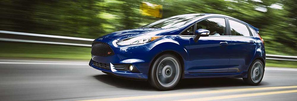 2016 Ford Fiesta Banner Blue